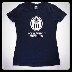 5/$20 German Hofbrauhaus Black T Shirt S